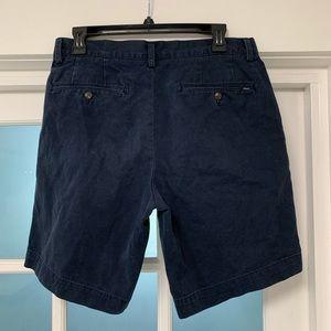 RALPH LAUREN Polo navy cotton shorts. Mens 32 EUC